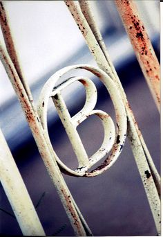 The Letter B  by Marisposa on Flickr.