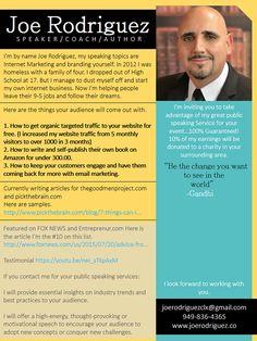Motivational Speaker Sample Bio Resumepower