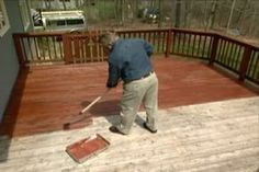 How to Restore and Maintain a Deck. Learn how to give your deck an instant makeover. Includes details on pressure washing, using a deck brightener, stain and water sealant. Big help!