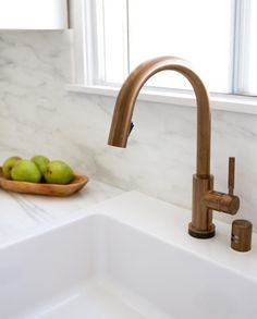 Brizo 64020LF-PC Solna Single Handle SmartTouch Pull-Down Spray Kitchen Faucet 1.8 GPM: Remodelista