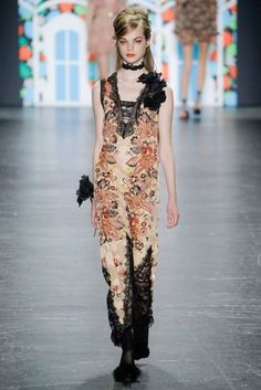 Anna Sui New York Spring/Summer 2017 Ready-To-Wear Collection   British Vogue