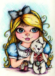 A little fantastical fairy tale fun...Pop Art Minis style!