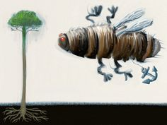 The Cicada  ArtRage on iPad