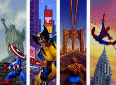 """Super Heros"" | Illustrator: Joe Jusko"