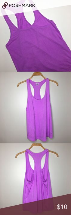 """Pink Victoria's Secret Purple Tank Top - Size S Like new Victoria's Secret Pink purple tank top in size small. Bust: 35"""", Length (armpit to bottom): 15"""" PINK Victoria's Secret Tops Tank Tops"""