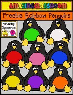 Darling penguin clip art