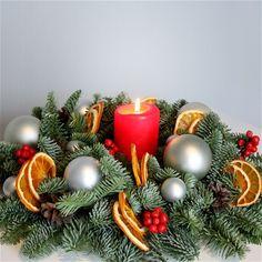 Рождественский (новогодний) венок A032