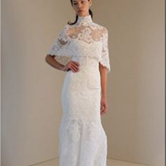 Brides: Our Favorite Lace Wedding Gowns : We even have something for the conservatives Wedding Dresses Photos, Wedding Dress Styles, Designer Wedding Dresses, Wedding Gowns, Lace Wedding, Filipiniana Wedding, Filipiniana Dress, Flattering Wedding Dress, Bridal Collection