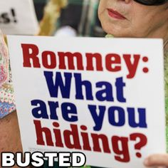 """""""Romney: What are you hiding?"""" from RandiRhodes.com"""