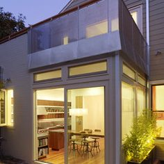 Unique way of making conservatory addition look modern