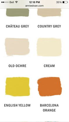 Country grey or old ochre?