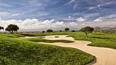 15th Hole of Son Gual Golf Course on Mallorca