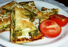 Spanakopita, Vegetable Pizza, Feta, Ale, Vegetables, Ethnic Recipes, Ale Beer, Vegetable Recipes, Veggies