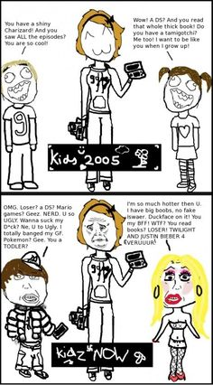 Kids now…