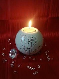 Keramik-Teelichthalter Kugel   6,99 € *