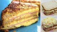 """Knuspriges """"Monte Cristo"""" Sandwich"""