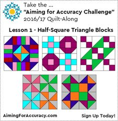 """""""Aiming for Accuracy Challenge"""" – Quilt-Along"""