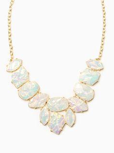 Snow glaze necklace