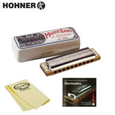 Hohner Marine Band 1896 Classic Harmonica in Key of C (1896BX-C) with Easy Reeding Instructional Booklet & GoDpsMusic Harmonica Cleaning Cloth - http://www.rekomande.com/hohner-marine-band-1896-classic-harmonica-in-key-of-c-1896bx-c-with-easy-reeding-instructional-booklet-godpsmusic-harmonica-cleaning-cloth/
