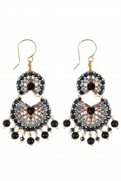elegant yet versatile, this #chandelier #earrings will add glamour to both dressy and casual outfits I NEWONE-SHOP.COM