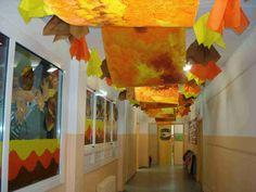 Educació i les TIC: 30 maneres originals de decorar la nostra escola a la tardor