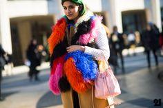 Who: Preetma Singh | What: Alexander Wang, Elizabeth & James, Meadham Kirchhoff, Richard Nicoll |Street Style New York City 2014
