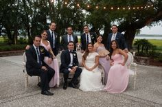 Real Luxe Wedding: Michelle + Omar at Lowndes Grove Plantation