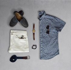 Great summer outfit grid by @thegridshop