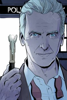 The New Doctor - Portrait with Sonic Screwdriver