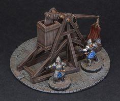 War Trebuchet | LOTR Minas Tirith war trebuchet from Games W… | Flickr