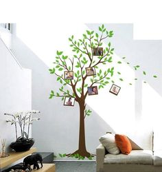 Giant Photo Tree Wall Decal Sticker SL7124