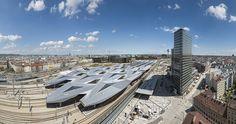 Vienna Central Train Station - EUROICC