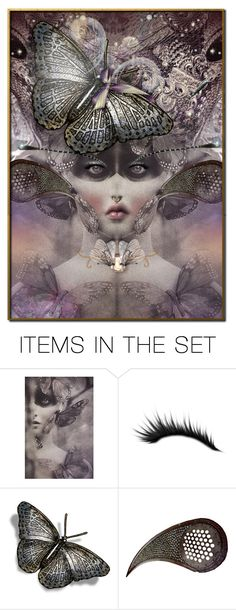 """Keep Your Freak"" by incogneato ❤ liked on Polyvore featuring art"