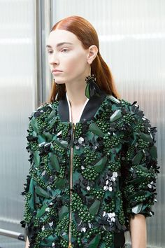 Bejeweled bomber jacket by Marni