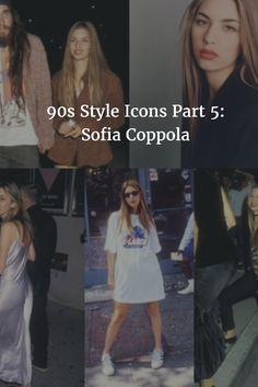 Sofia Coppola: the girl we all wanted to know. See part 5 of my 90s Style Icons series at jukeboxbeck.com  #fashion #style #90s #styleicon #sofiacoppola #fashionblog