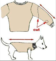 DIY Dog Sweater!