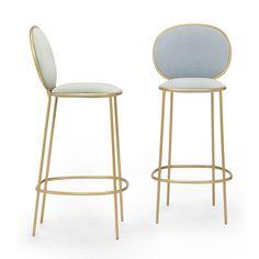Kursi Bar Elips Rangka Besi I Jati Furniture Jepara Metal Chairs, Bar Chairs, Dining Chairs, Lounge Chairs, Bar Cart Decor, Chaise Bar, High Stool, Bar Furniture, Cheap Furniture
