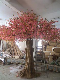 indoor flower tree Indoor Home Decorative Artificial Tree,Large Outdoor…