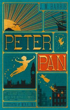 J. M. Barrie's classic children's story is reimagined in this delightful full-color deluxe edition filled with all-new illustrations and ten removable features specially designed by MinaLima, the award-winning design studio behind the graphics for the Harry Potter films. For more than a century, the adventures of Peter Pan—the boy who can fly and never grows up—and Wendy Darling have captured the hearts of generations of readers. In this enchanting illustrated volume, the fantastical world…