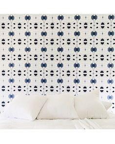 #sleepinsunday  Pattern: Galileo Glass in indigo. 📷 via @hannahcrowell  #eskayel #eskayelwallpaper #dswallpaper