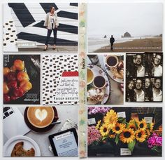 Kelly Purkey blog - all about scrapbooking. like her sleek and minimal style with scrapbooking daily life and travels.