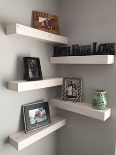 A personal favorite from my Etsy shop https://www.etsy.com/listing/477883854/set-of-5-rustic-floating-shelves