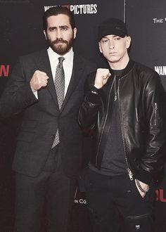 Jake Gynelhaall & Eminem #Southpaw