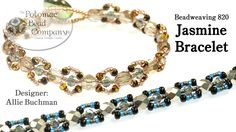 This video tutorial from The Potomac Bead Company teaches you how to make Allie's Jasmine Bracelet design. Find a complete list of supplies below by clicking...