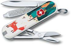Victorinox Swiss Army 2013 Contest Classic Multi-Tool, Foxy, 2-1/4 inch Closed (0.6223.L1308US1)