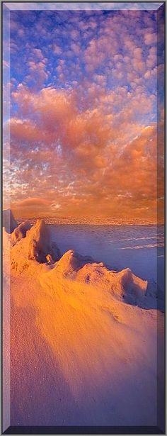 AMAZING SUNSET SCENERY #By Phil Koch #sky sun sunlight light blue amazing shot