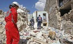 Terremoto Abruzzo Italy