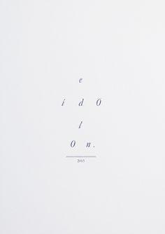 eidolon, immagine | bianca salvo