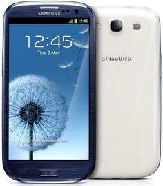 Smartphone Samsung galaxy S3 com 20% de desconto.