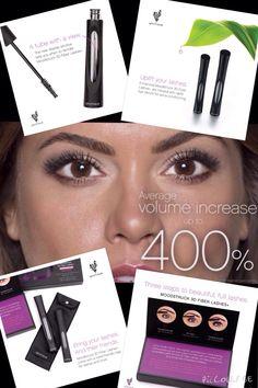 Goodbye falsies! Hello Fiber Lash Mascara! Adds up to 400%! No glue, no mess!